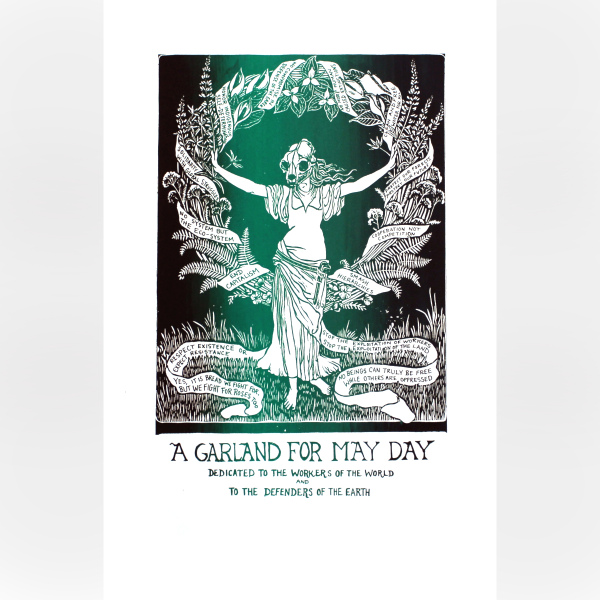 Garland for May Day print