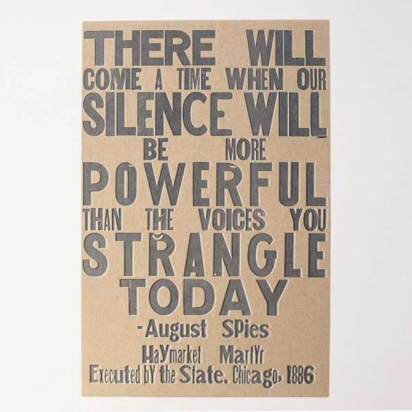 August Spies print