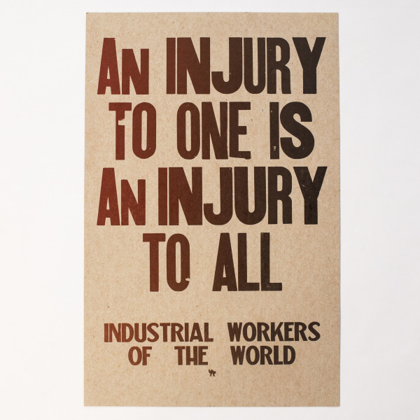 An Injury to All print