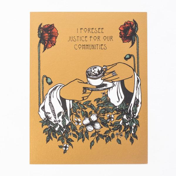 Tasseography print