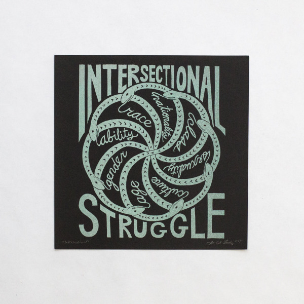 Intersectional Struggle print